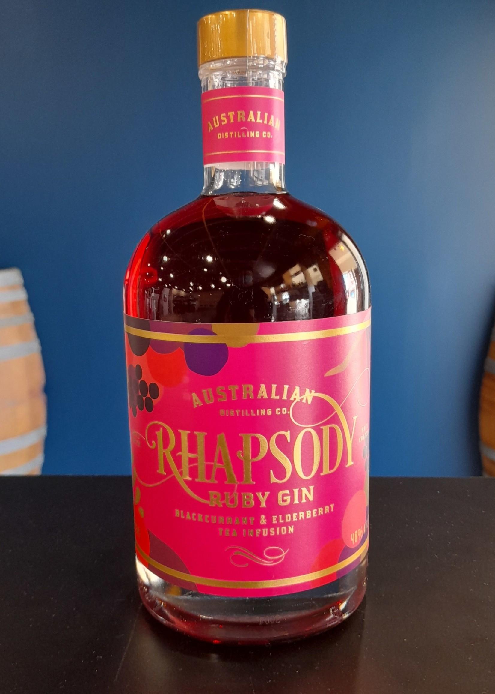 Australian Distilling CO. ADCO RHAPSODY RUBY GIN