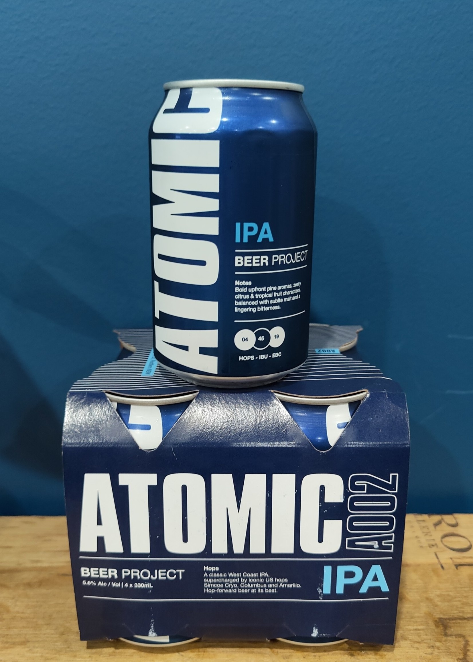 ATOMIC BEER PROJECT Atomic IPA