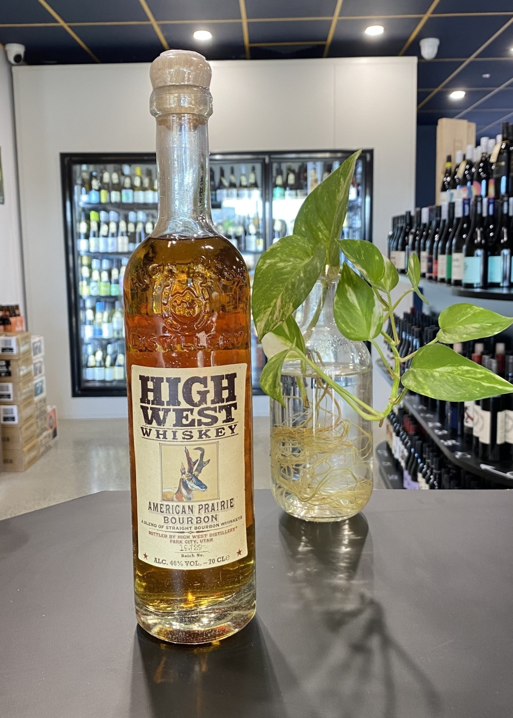 Highwest Distillery HIGH WEST AMERICAN PRAIRIE BOURBON
