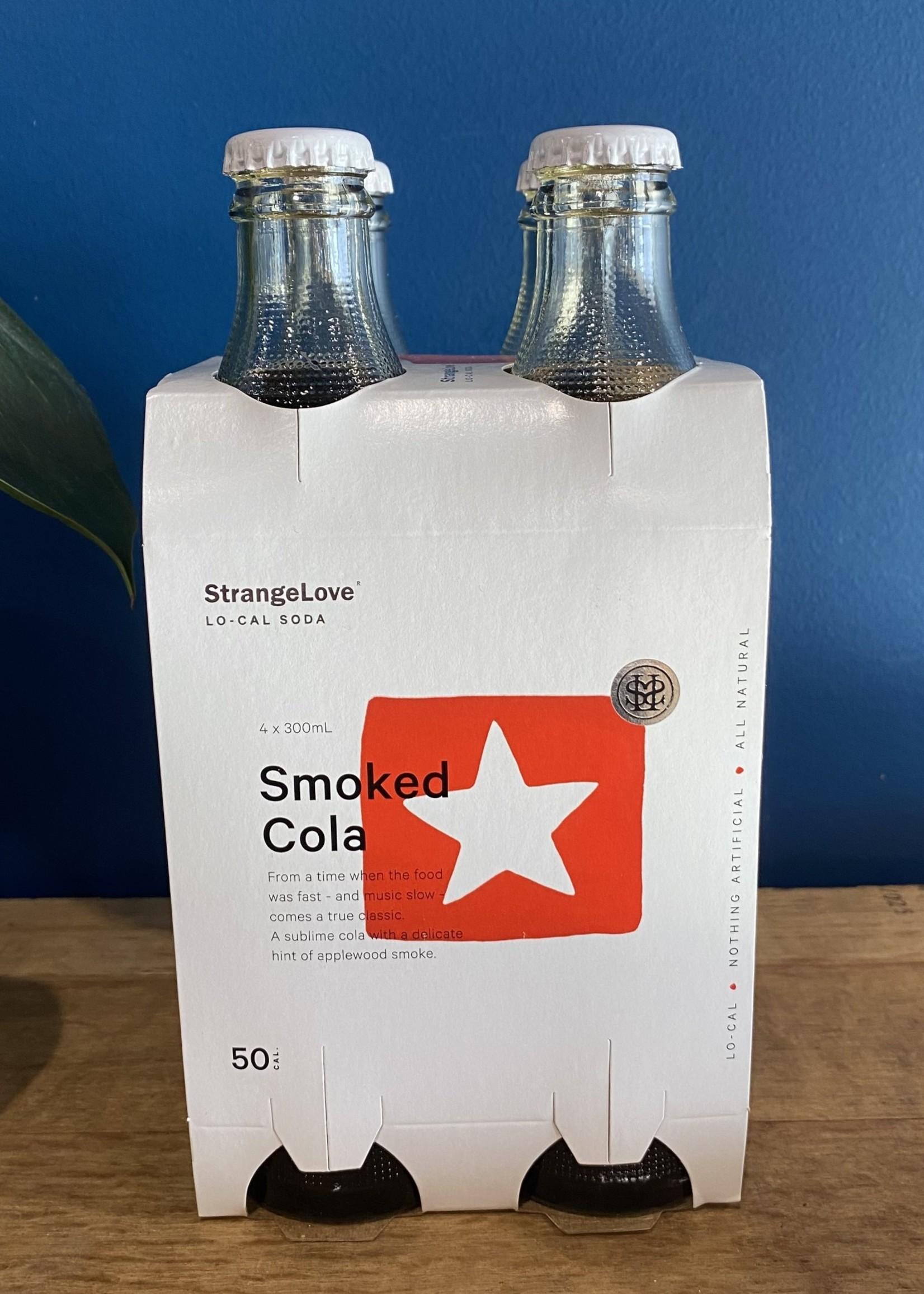 STRANGELOVE STRANGELOVE LO CAL SMOKED COLA 300mls