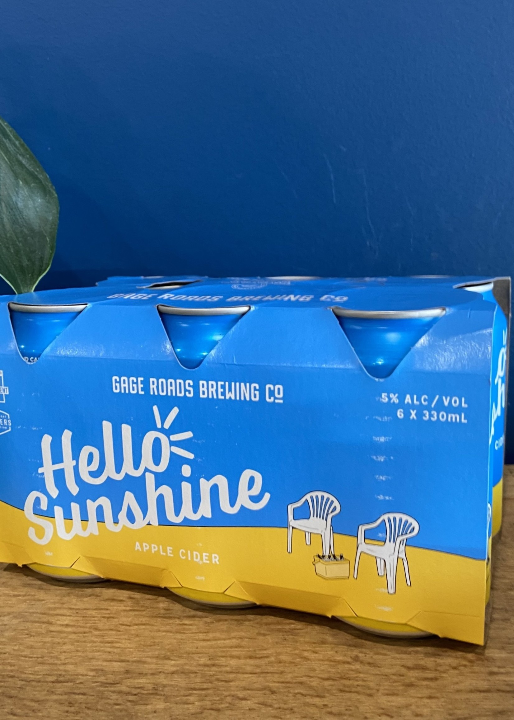GAGE RD BREWING Hello Sunshine Cider