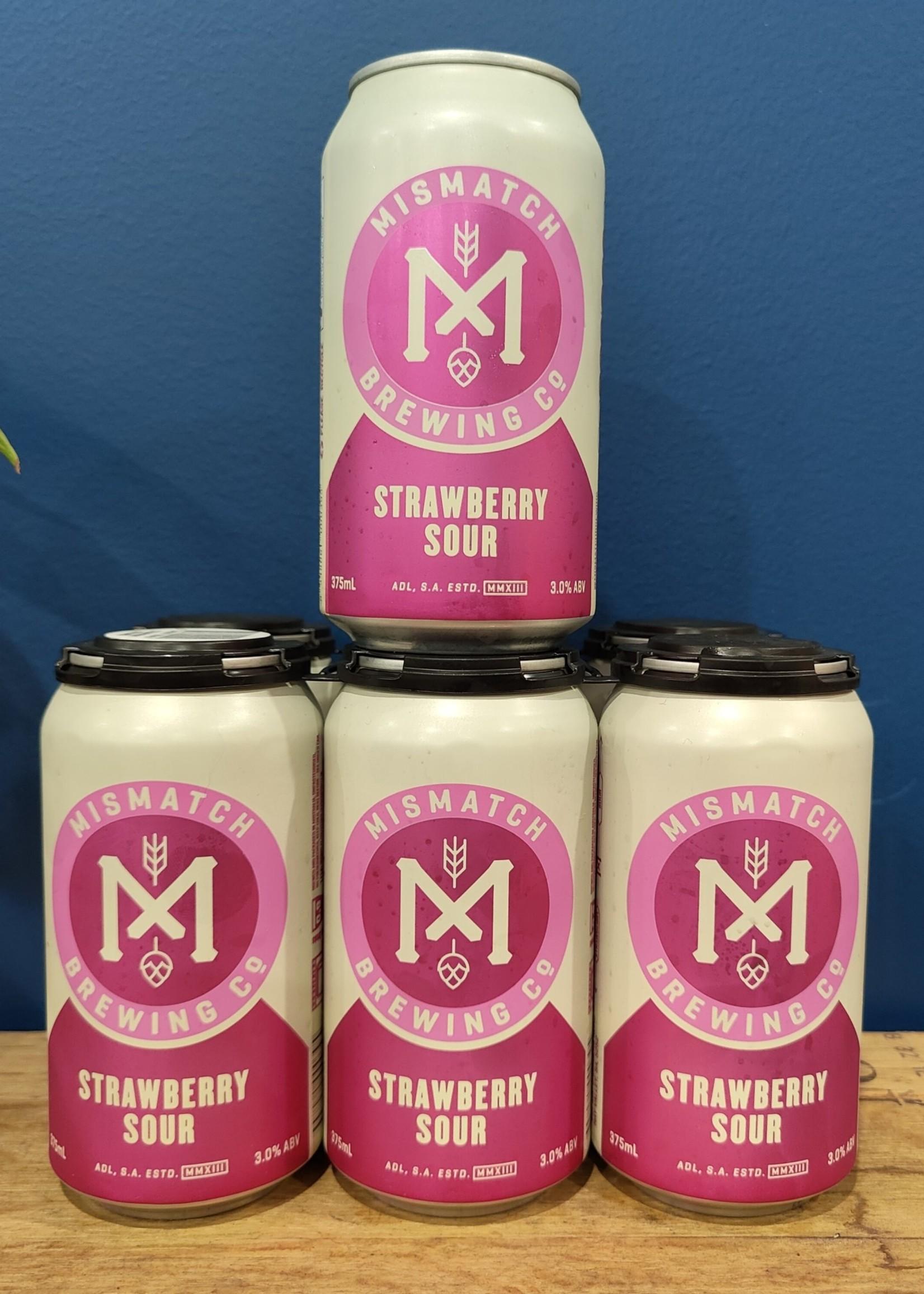 Mismatch Brewing Mismatch Strawberry Berliner Weisse