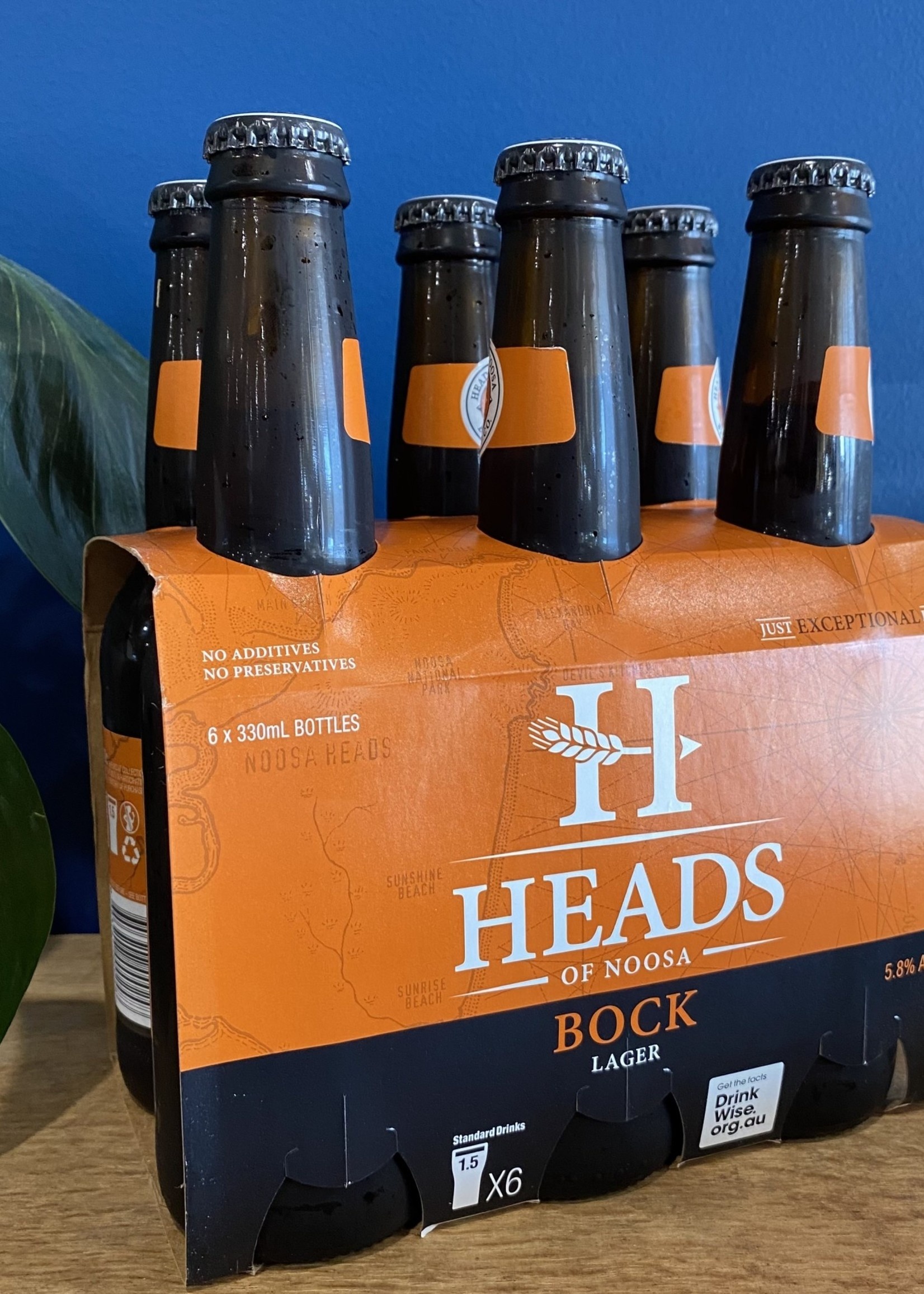 Heads Of Noosa Bock Lager