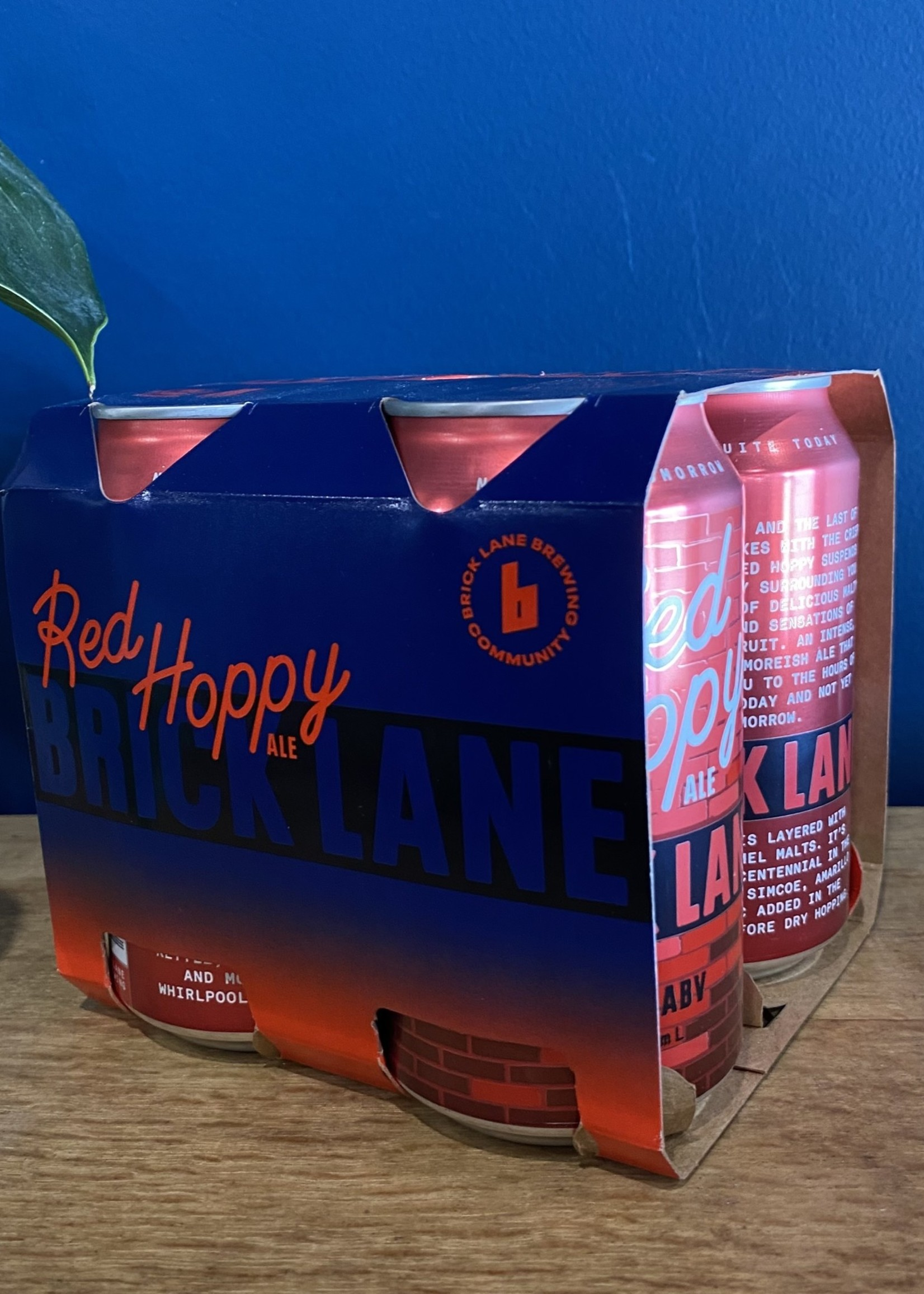 Brick Lane Brewing Brick Lane Red Hoppy Ale