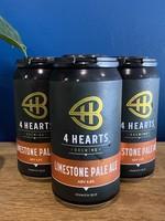 4 Hearts Brewing Limestone Pale Ale