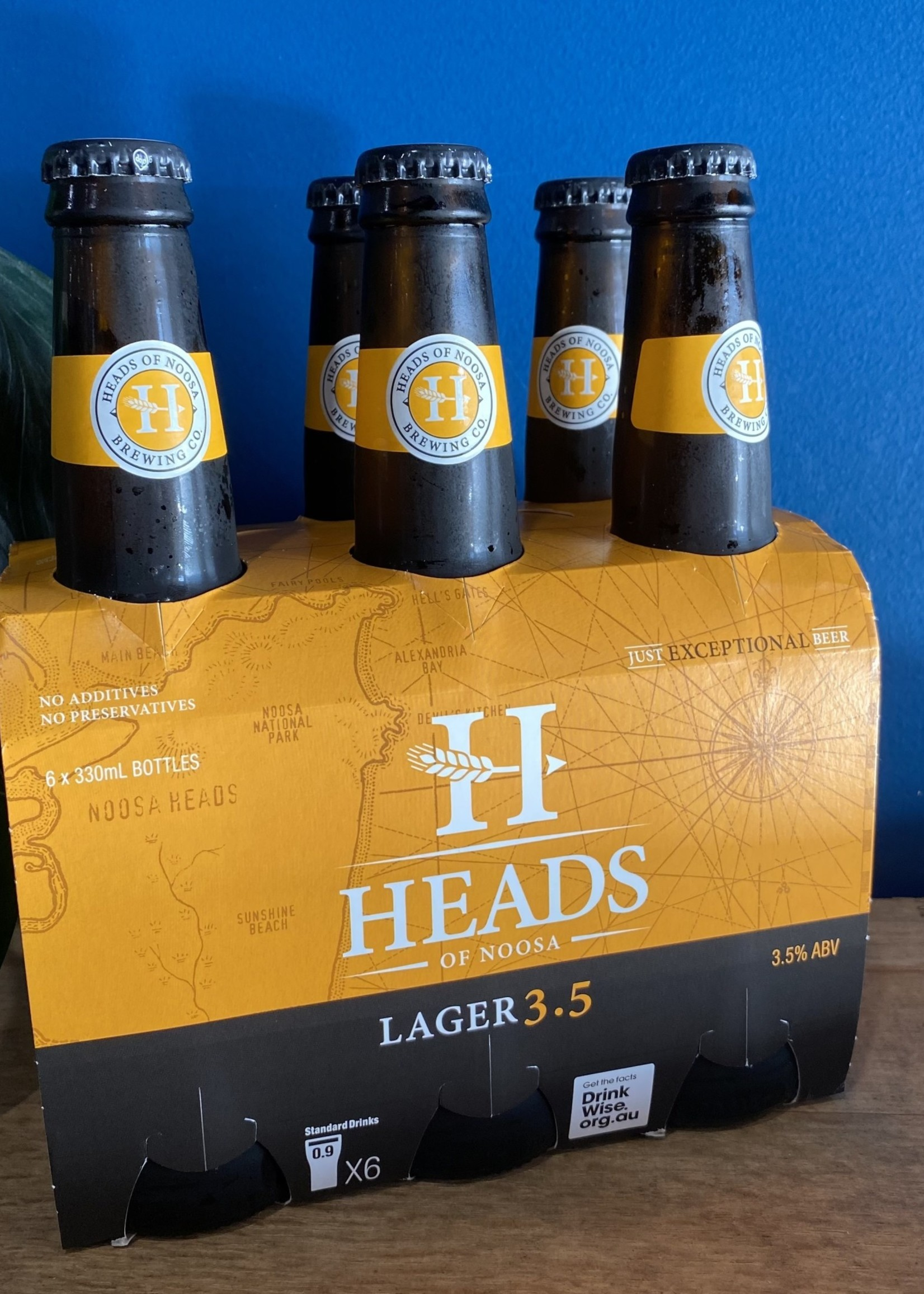Heads Of Noosa Heads of Noosa Lager 3.5