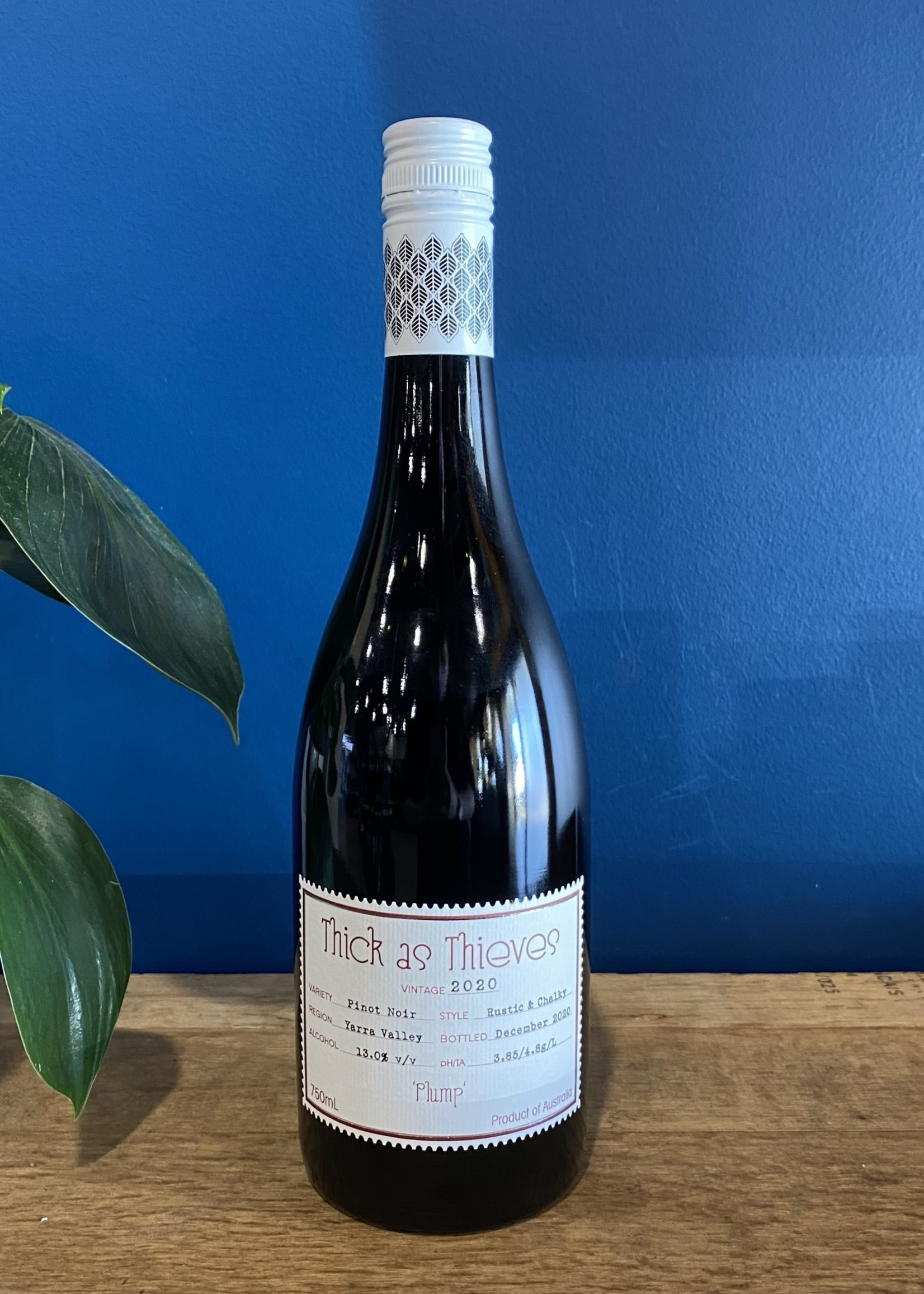 Thick As Thieves Thick as Thieves 2020 Pinot Noir