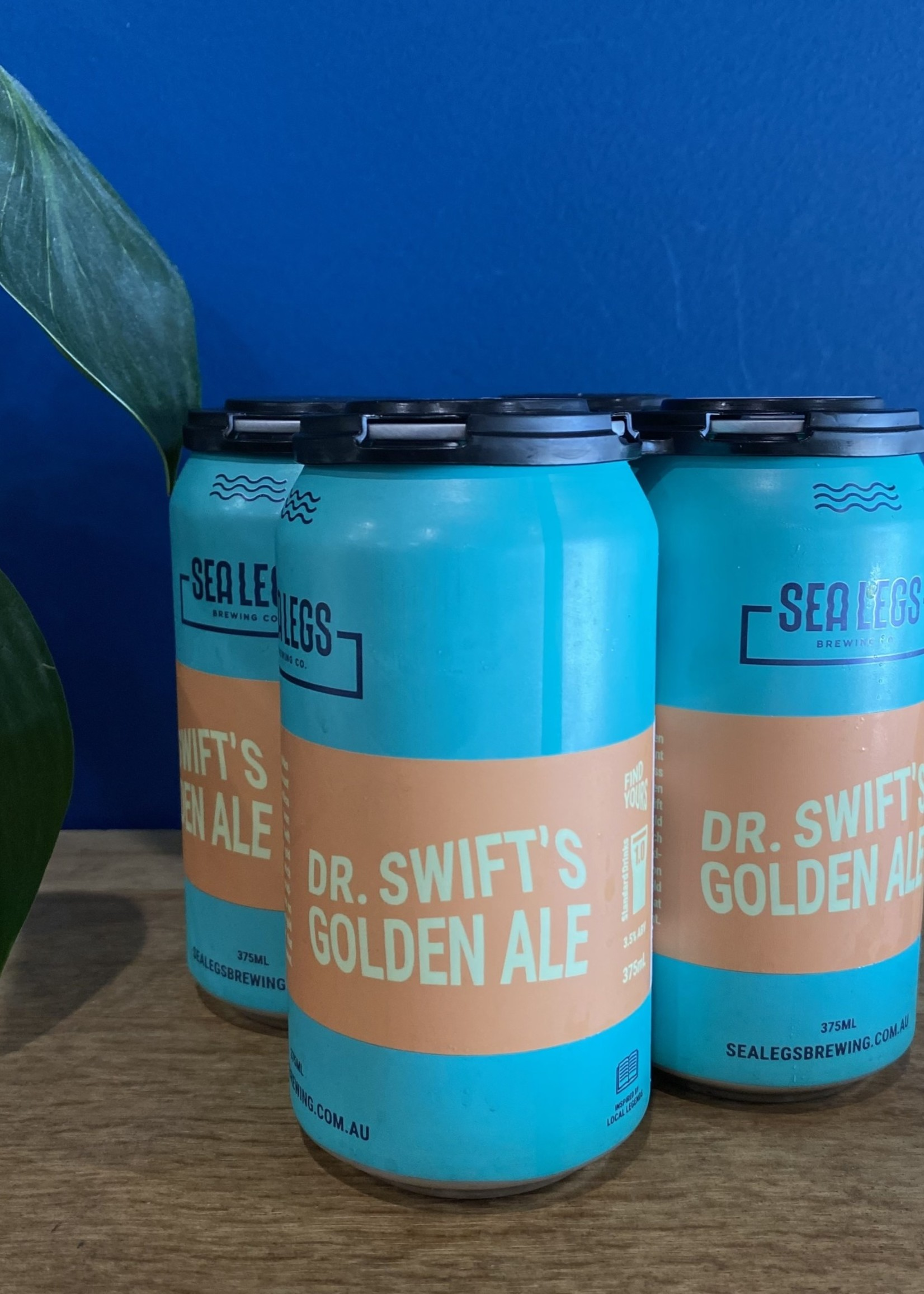 Sea Legs Brewing Dr. Swift's Golden Ale