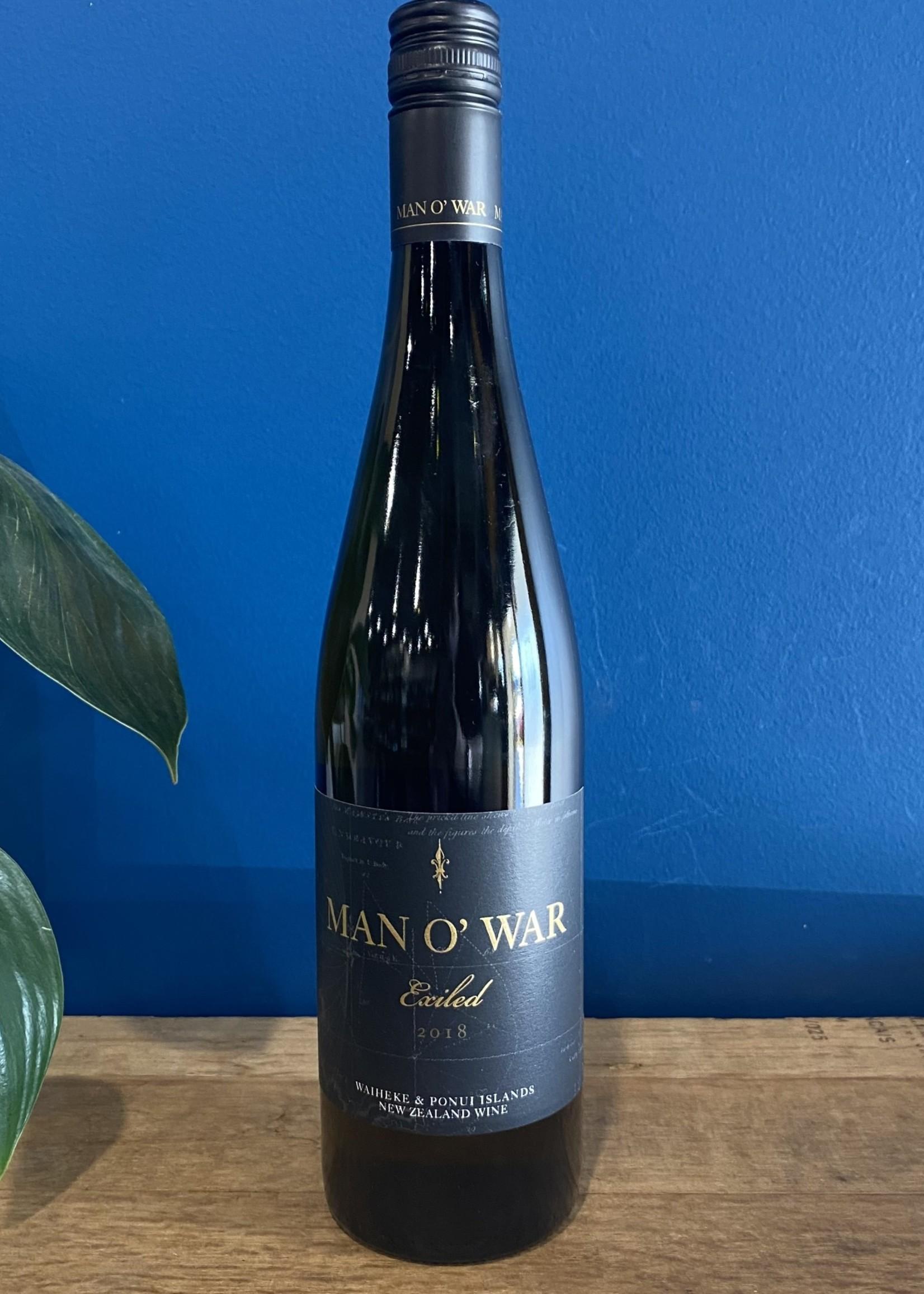 Man o War Man O'War Exiled 2018