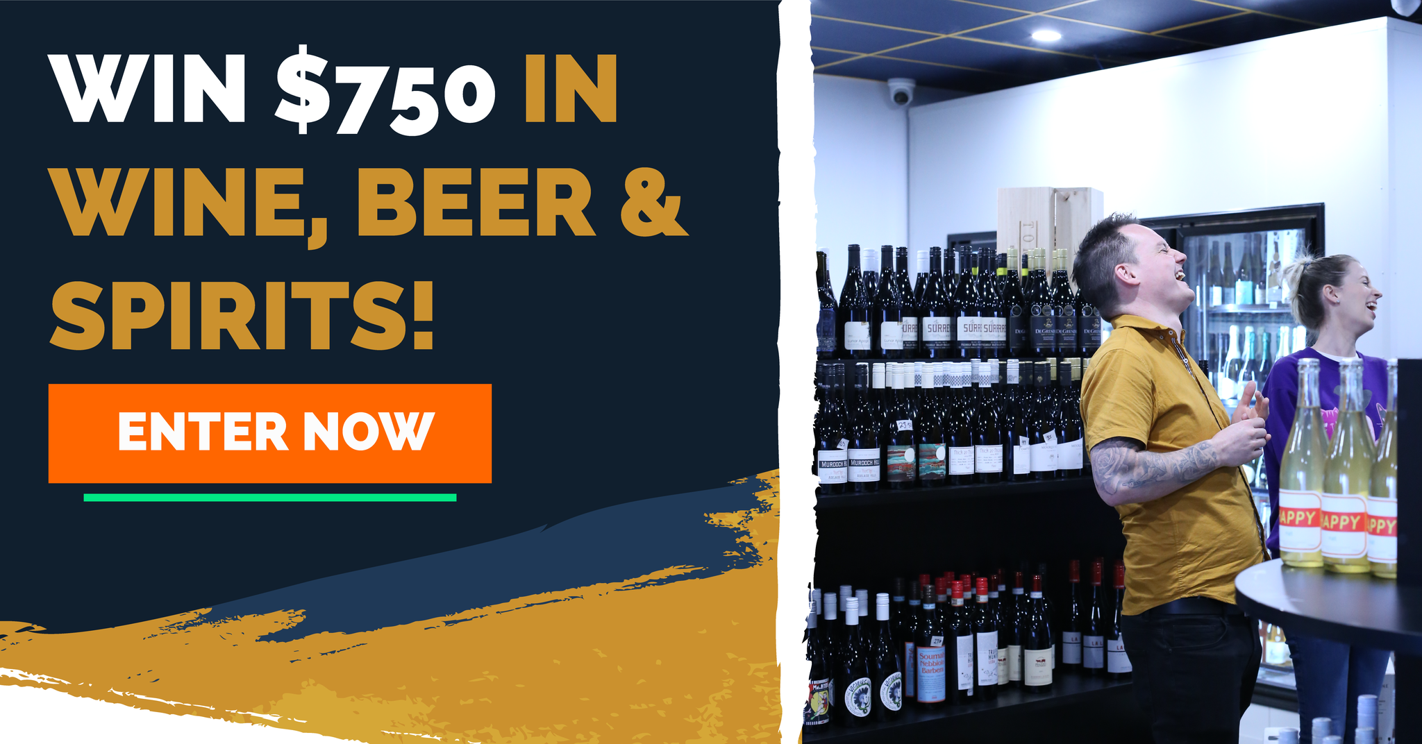 Win $750 in beer, wine and spirits with Flask Bottleshop in Boondall