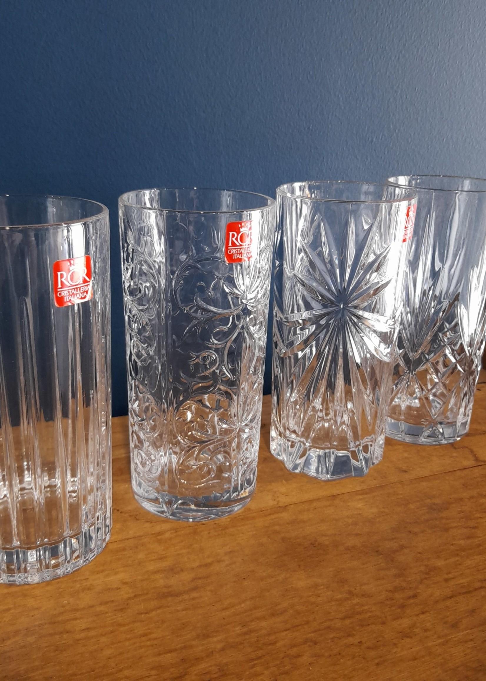 RCR RCR Mixology Tall Glass set (4)
