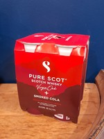 Pure Scot Pure Scot Smoked Cola 4 Pack