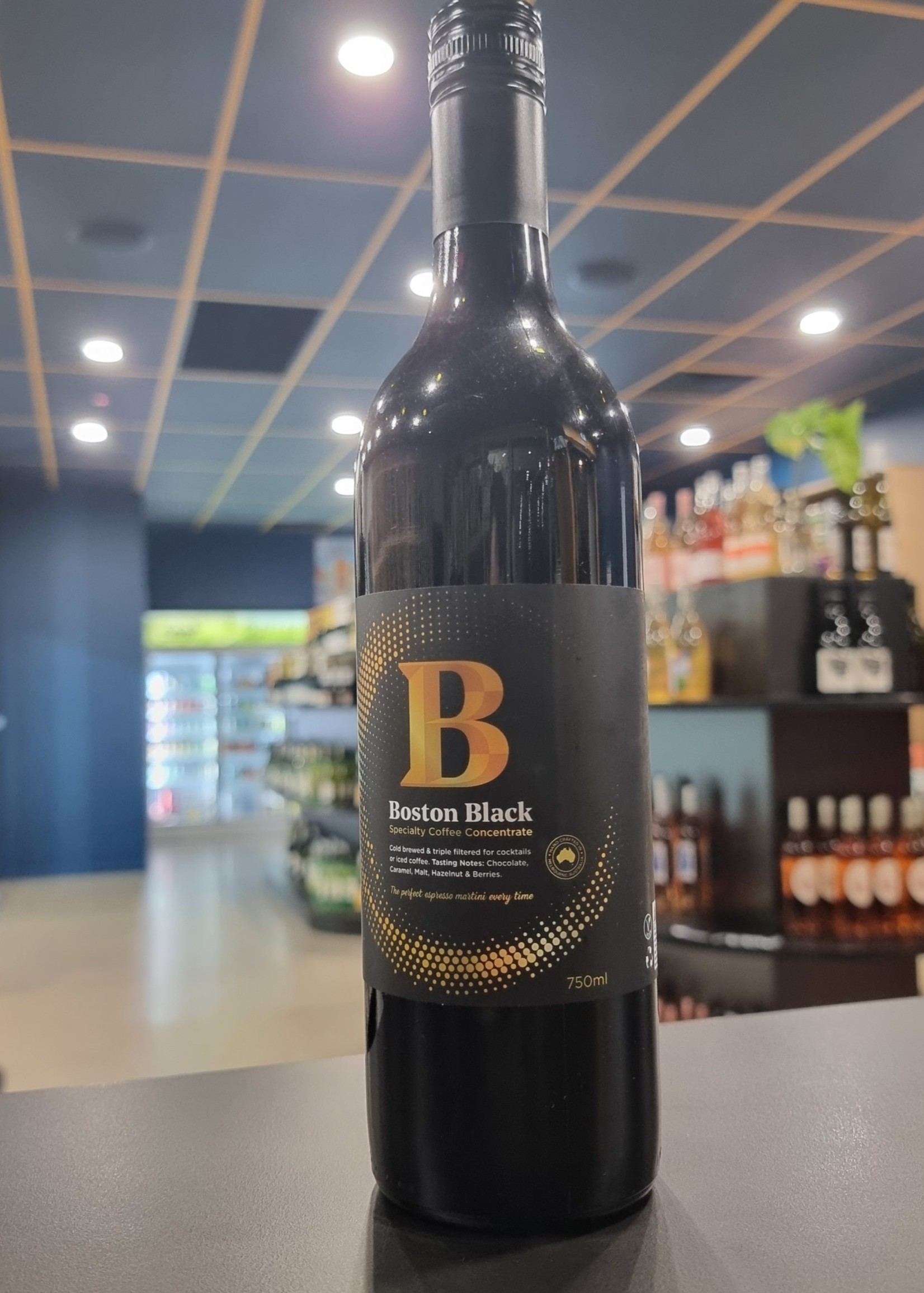 Boston Black Specialty Cold Brew Coffee 750ml
