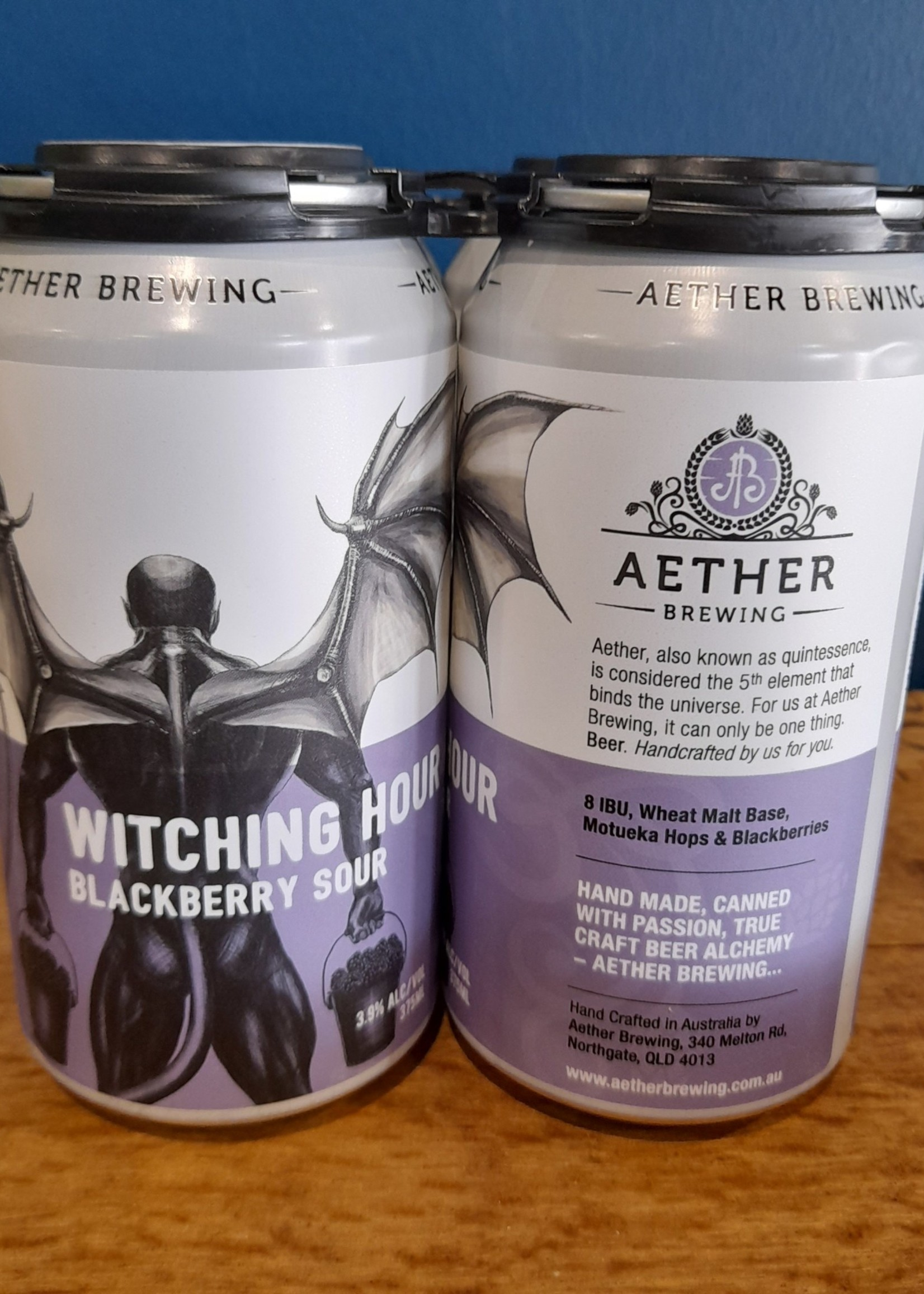 Aether Aether Witching Hour Blackberry Sour 4 pack