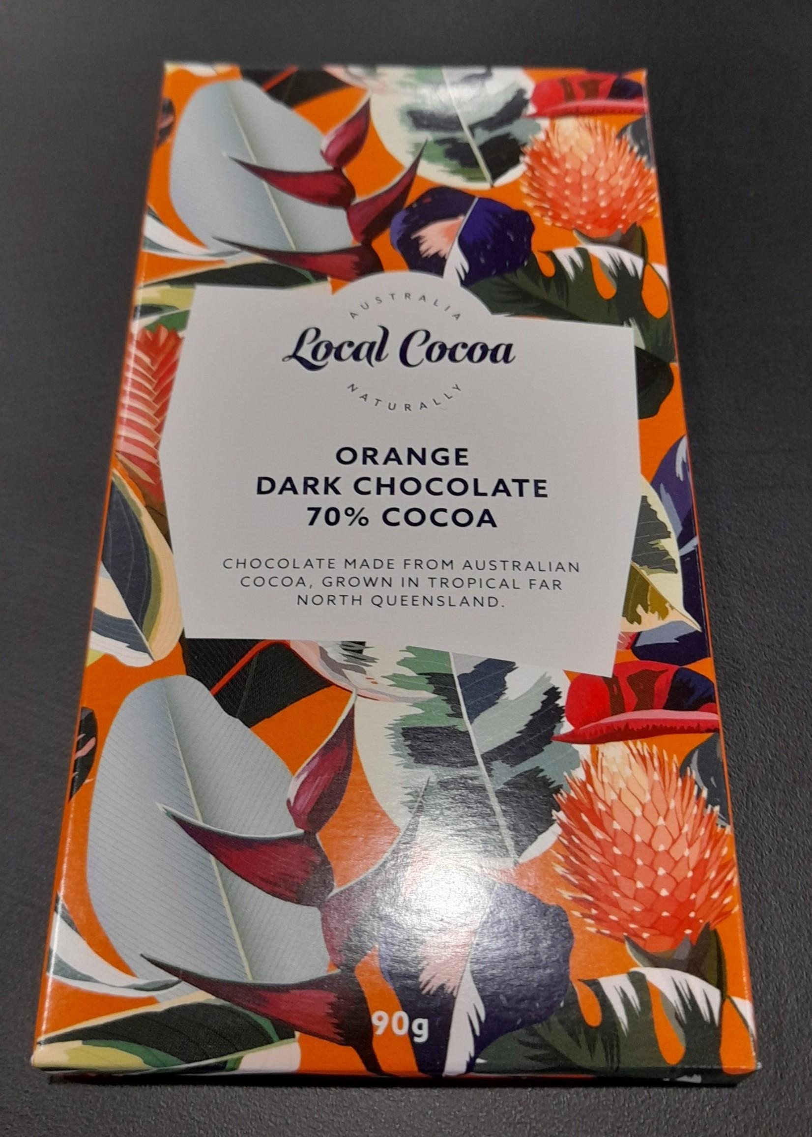 Local Cocoa Local Cocoa Orange Chocolate 70%