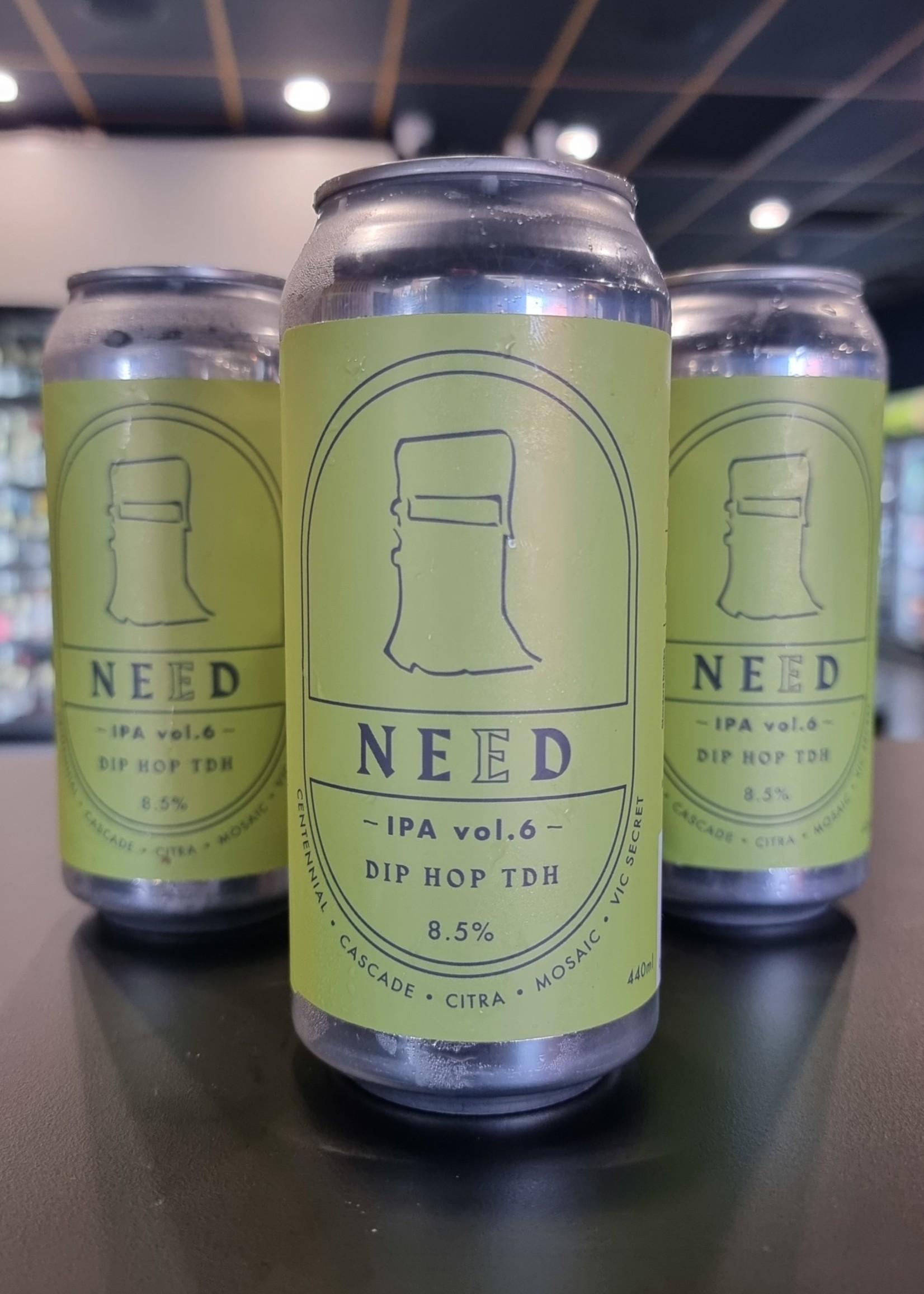 Bridge Road Brewers NEED IPA Vol.6 single