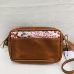 Joyn Japanese Carmel Leather Purse, India