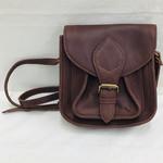 Joyn Mini Myra Leather Satchel Brown, India