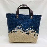 Navy Seagrass Bag