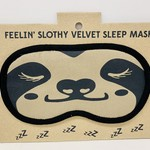 Sloth Velvet Sleep Mask, Bangladesh