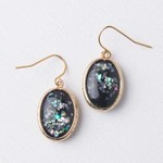 The Starfish Project Kimi Gold and Black Opal Dangle Earrings, China