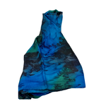 Waterfall Painted Scarf, India