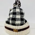 Checker Pom-pom Hat, Nepal