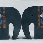 Elephant Palewa Bookends