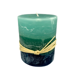 Sea Glass Ombre Candle, Honduras