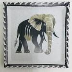 """Maisha Kisii Elephant Plate 6"""""""