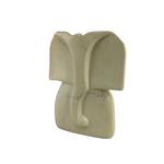 Natural Kisii Stone Elephant Sculpture (S)