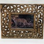 Frame Cutouts wood 4x6 photo