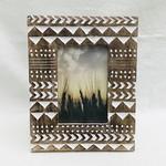 Sharp And Sassy Mango Wood Frame