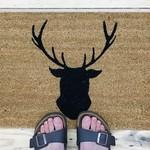 Buck Up Doormat