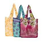 Upcycled Sari Pocket Bag, India