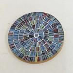 Lots of Blue Mosaic Coaster