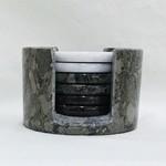 Round Stone Coasters (Set of 6