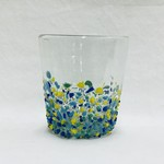 Recycled Glass Rock Glasses, Mexico