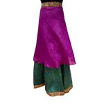 3/4 Length Silk Skirt