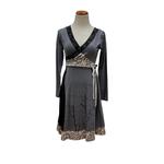 Ark Imports Viviana Dress Grey, Nepal