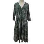 Mata Traders Wrap Dress Callie Teal 2XL