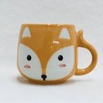 Mini Fox Ceramic Mug