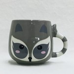 Mini Raccoon Ceramic Mug