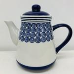 Deep Blue Ceramic Teapot, Vietnam
