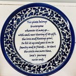 Giving Plate, West Bank