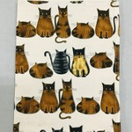 Cats About It Tea Towel, India