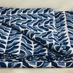 Indigo Blue Cotton Tablecloth