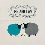 Me and Ewe Tea Towel, India
