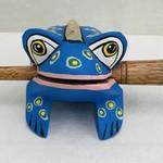 Blue Spotted Frog Instrument