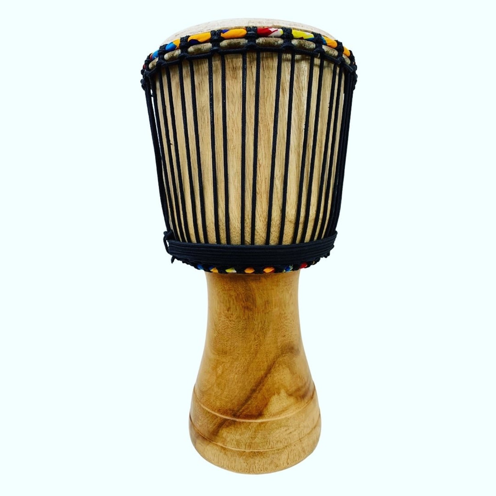 """Jam Town Djembe Drum Medium 22"""", Ghana"""